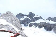 snow för drakejadeberg Fotografering för Bildbyråer