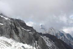 snow för drakejadeberg Arkivbild