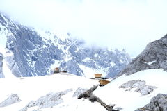 snow för drakejadeberg Royaltyfria Bilder