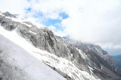 snow för drakejadeberg Arkivbilder