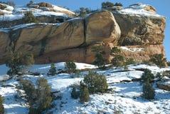 snow för jäkelkök s Arkivbilder