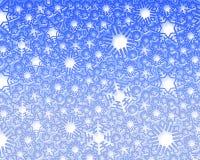 Snow fake background Stock Photo