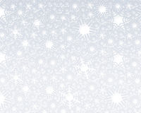 Snow fake background. A decorative illustration of  3d snow flake background Royalty Free Stock Image