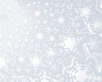Snow fake background. A decorative illustration of a 3d snow flake background Stock Photo