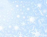 Snow fake background. A decorative illustration of a 3d snow flake background Royalty Free Stock Image