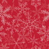Snow fake pattern Royalty Free Stock Photos