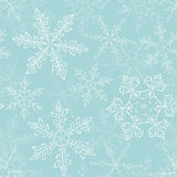 Snow fake pattern 2 Royalty Free Stock Images