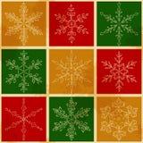 Snow fake pattern 3 Royalty Free Stock Image