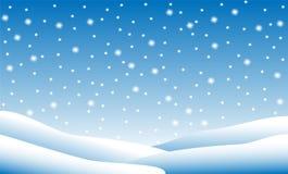 Snow fall Royalty Free Stock Photo
