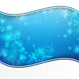 Snow fall with bokeh and lighting element abstract background. Vector illustration eps10 Royalty Free Illustration