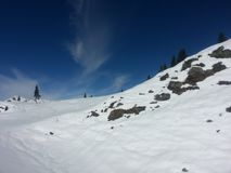 Snow. Fall in pakistan Azad Kashmir stock image