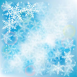 Snow fall  Winter background Stock Photography