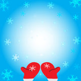 Snow falling. Vector eps10. Royalty Free Stock Image