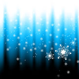 Snow falling Royalty Free Stock Images