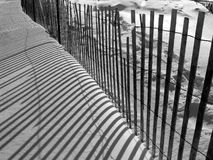 Snow fence Stock Photos