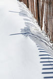 Snow fence Stock Photos