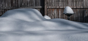 Snow Fence Stock Images