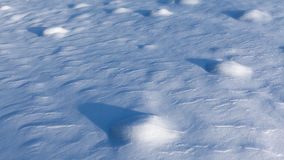 Snow field Royalty Free Stock Photos
