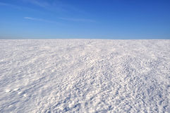 Snow field Royalty Free Stock Photography