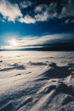 Snow Field during Day Time Royalty Free Stock Photography