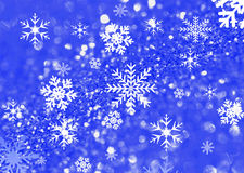 Snow flacke background Stock Photography