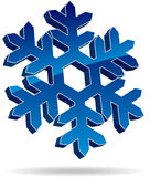 Snow flake Stock Photo