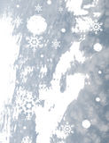 Snow flake. Drawing of beautiful snow flake,used as background stock illustration