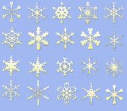 Snow flake. Royalty Free Stock Photo