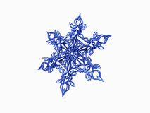 Snow flake Royalty Free Stock Image