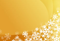 Snow flake background. Snow flake on the ground as a pretty background Stock Images
