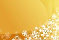 Snow flake background stock illustration