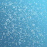 Snow flake background Royalty Free Stock Image
