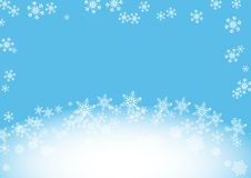 Snow flake background Royalty Free Stock Images