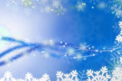 Snow blue abstract background. Snow flake blue abstract background Stock Images