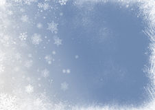 Snow flake christmas background Stock Photos
