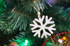 Snow flake decoration Royalty Free Stock Image