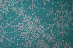 Snow flake design. Royalty Free Stock Images