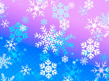 Snow flake design Royalty Free Stock Photos