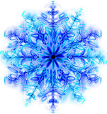 snow flake isolated royalty free illustration