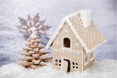 Snow. Flake flakes card winter holiday silver Royalty Free Stock Photo
