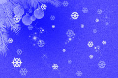 Snow Flake Vector Anniversary Card Royalty Free Stock Image