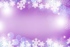 Snow violet abstract background Royalty Free Stock Image