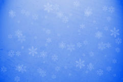 Snow Flake Wallpaper. Computer generated christmas background with snow flakes Royalty Free Stock Images