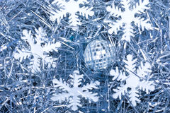 Snow flakes Stock Photography