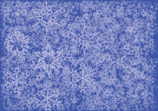 Snow flakes Stock Images