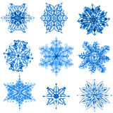 Snow flakes Stock Photo