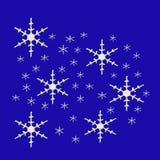 Snow flakes Royalty Free Stock Photos