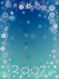Snow flakes Stock Image