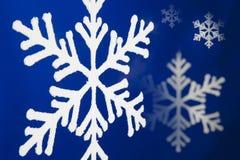 Snow flakes. Royalty Free Stock Photo