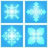 Snow flakes Royalty Free Stock Image